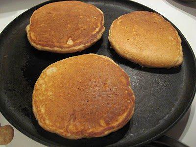 Whole Wheat Sourdough Pancakes