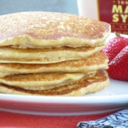 Whole Grain Sweet Potato Pancakes