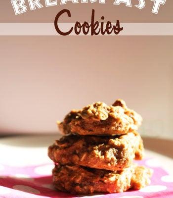 Breakfast Cookies {Freezer Meal}