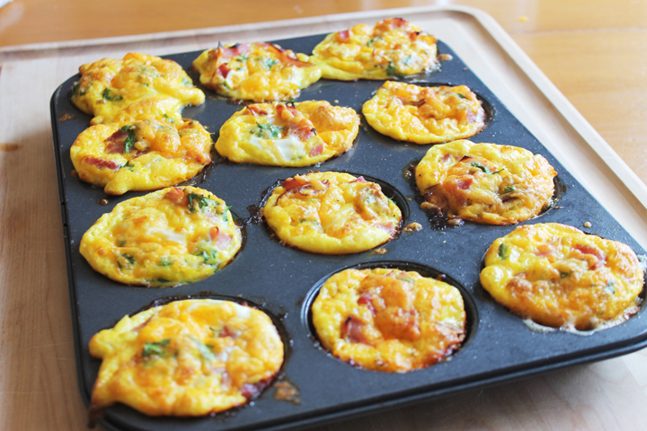 easy breakfast casserole muffin recipe