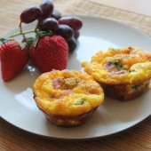egg casserole muffin recipe