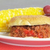 Super Sloppy Joes - A much healthier and tastier version of the canned stuff!