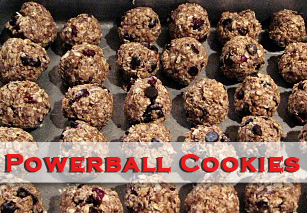 Powerball Cookie Recipe