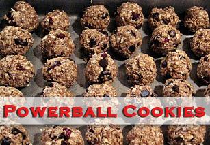 Powerball Cookie Recipe