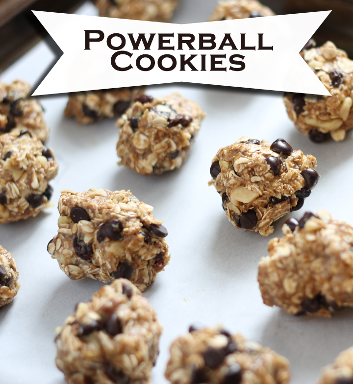 Power+Cookies+Recipe Powerball cookie recipe. Packed with nutrition ...