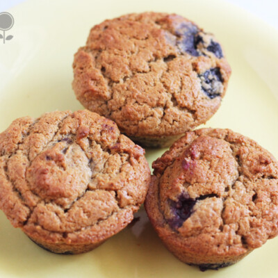 Peanut Butter and Jelly Muffins: A Healthy After School Snack Idea! {Freezer Meal}