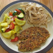 Parmesan and Cracker Crusted Tilapia