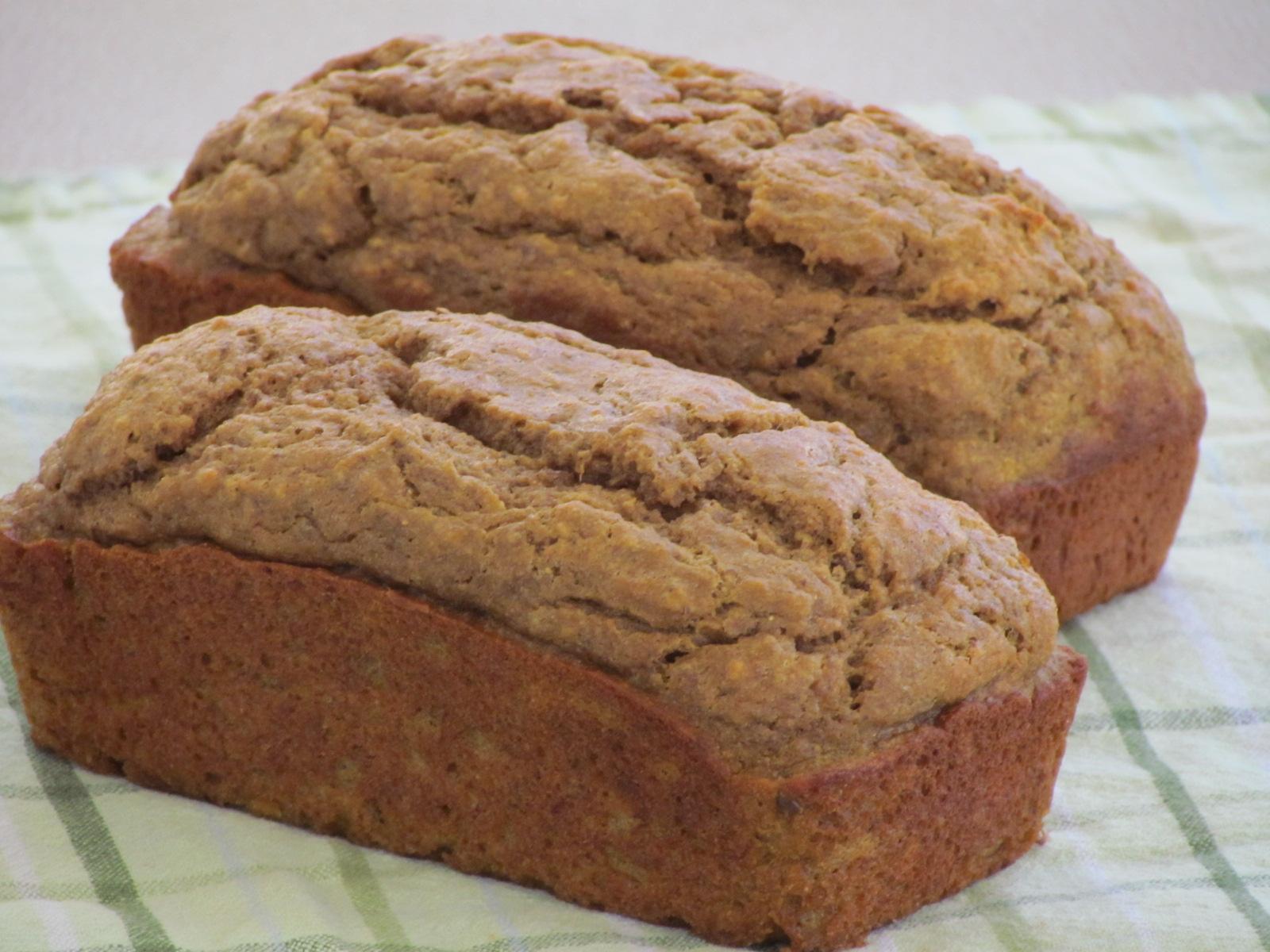 banana pumpkin bread or muffins thriving home