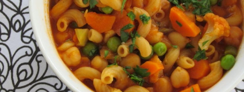 Vegetable Minestrone Soup
