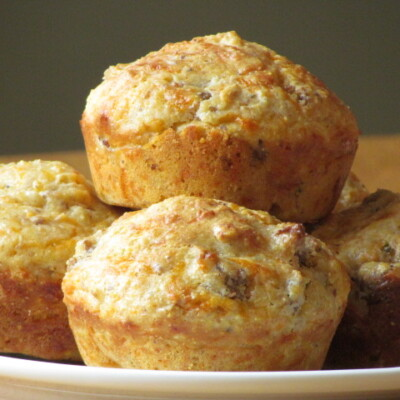 Savory Breakfast Muffins {Freezer Meal}