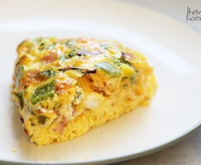 Oven Omelet {Freezer Meal}