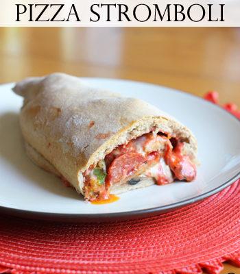 Pizza Stromboli {Freezer Meal}