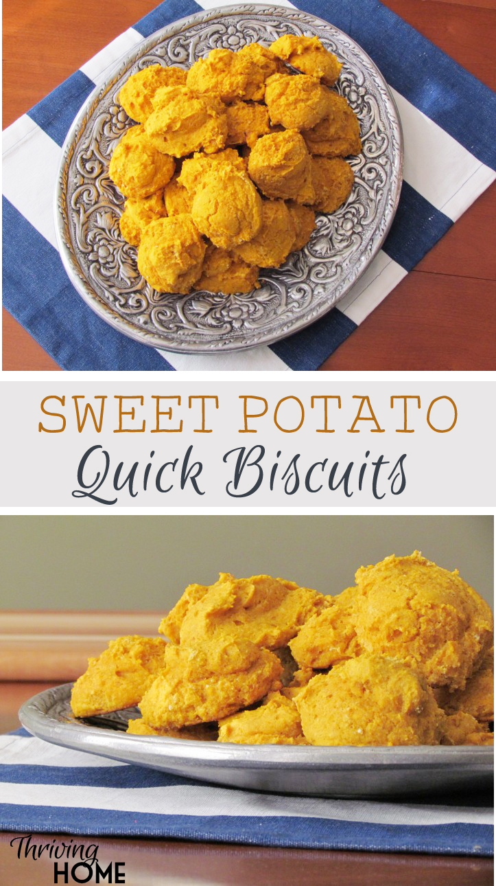 Sweet Potato Quick Biscuits