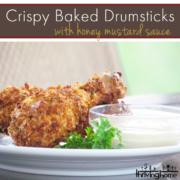 crispy baked drumsticks
