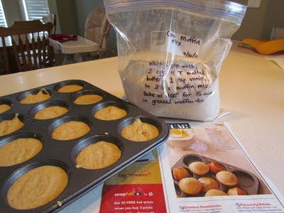 DIY Corn Muffin Mix