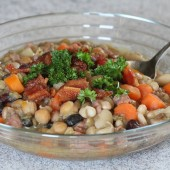 Ham and Bean Soup--Cheap, Hearty and Healthy!
