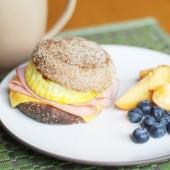 Fake-Out Starbucks Breakfast Sandwiches {Freezer Meal}