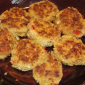 Freezable Mini Crab Cakes Recipe