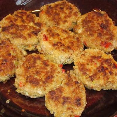 Mini Crab Cakes Recipe {Freezer Meal}