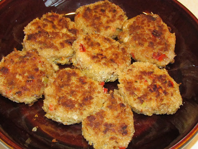 Surprise your family and friends with these incredibly-tender crab cakes! Filled with veggies and spices, these are sure to impress!