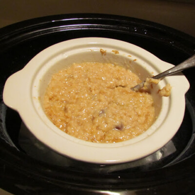 Healthy Start to Your Day: Steel Cut Oats in the Slow Cooker