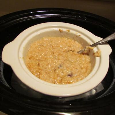 slow cooker steel cut oat recipe