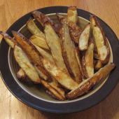 Oven Fries with a Secret Ingredient