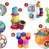 Favorite Toys for Six Month Old Baby