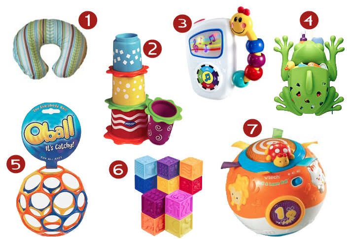 Toys For 4 Month Old Baby : Favorite toys for six month old baby thriving home
