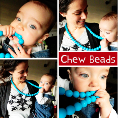 Chew Beads: Inspired by Teething Babies, Worn by Moms