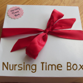 New Mom Gift Idea: Nursing Time Box