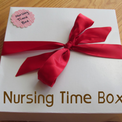 New Mom Gift Idea: Nursing Time Box