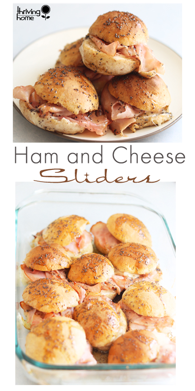 ham and cheese slider recipe
