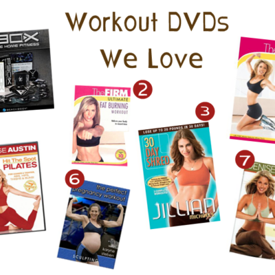 My Favorite Exercise DVDs (For Preggos and Non-Preggos Alike)