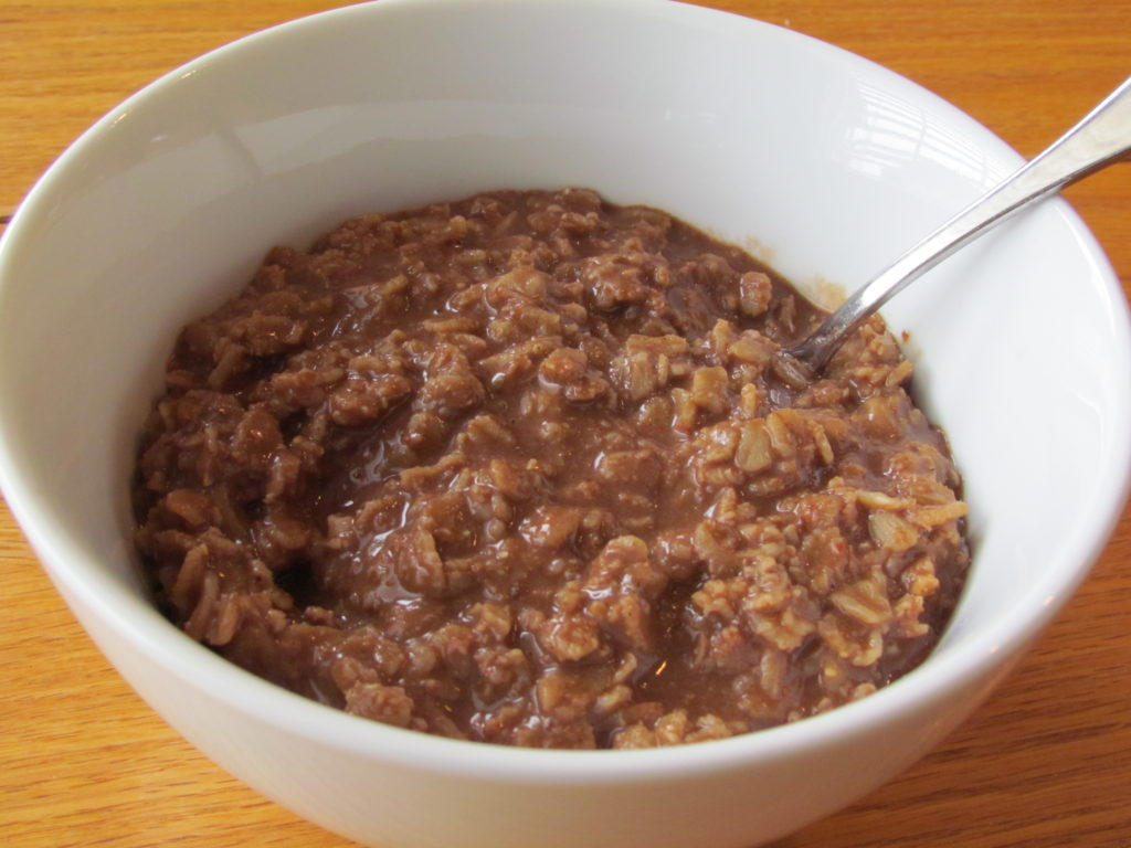 Try this oatmeal that is full of fiber, protein, antioxidants, vitamin A, calcium, healthy fat, and even probiotics.