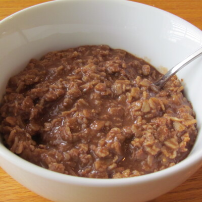 5 Minute Chocolate Oatmeal Recipe