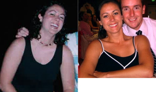 My journey towards weight loss: Before and after picture