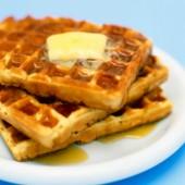 Pumpkin Protein Waffles {Freezer Meal}