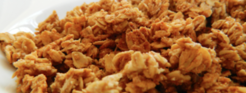 A easy homemade granola recipe