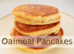 oatmeal pancake mix recipe