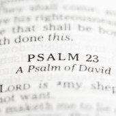 Pray with Us for Boston: Psalm 23