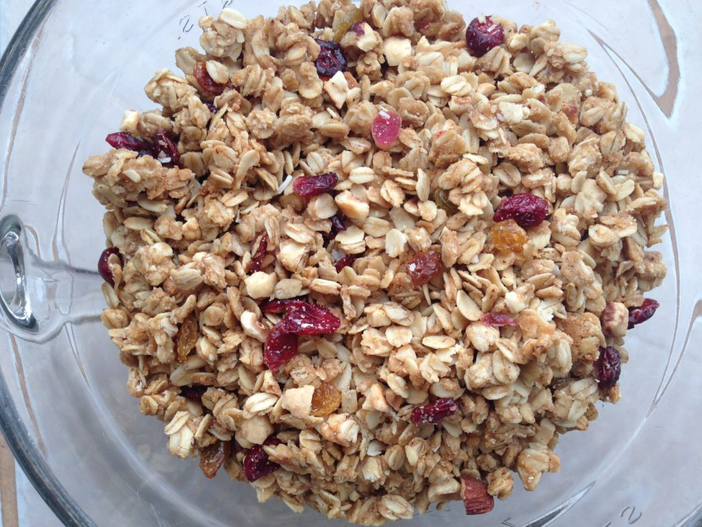 This granola recipe is a household favorite! It's simple, easy, and versatile. Plus, you have lots of health benefits from the oats.