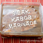 Steak Kabob Marinade Recipe