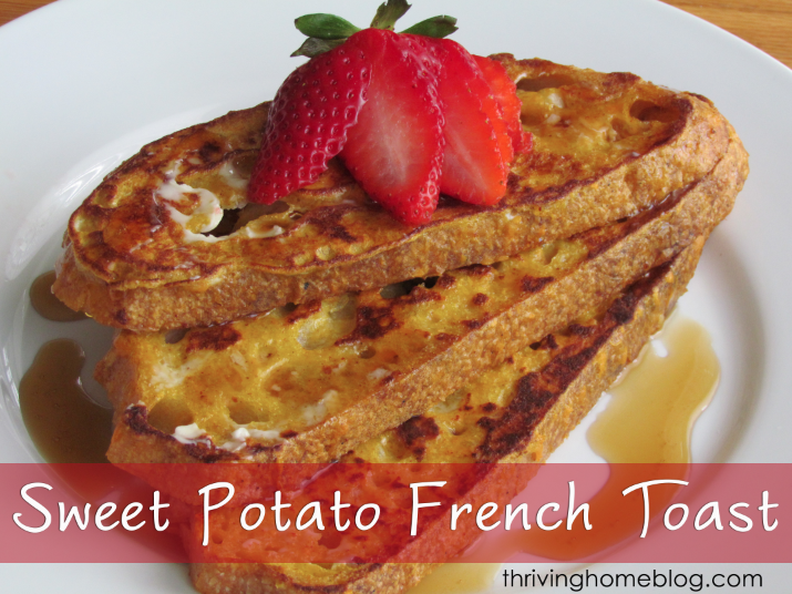 Sweet potato french toast recipe thriving home sweet potato french toast recipe ccuart Images
