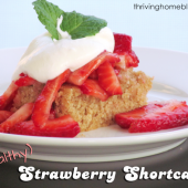 Healthy Take On Strawberry Shortcake