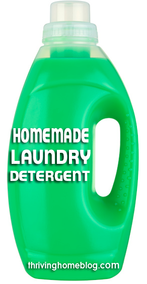 Try your hand at homemade laundry detergent. Not only will you save yourself some money, but you'll feel great about using safe, effective ingredients on your family's clothes.