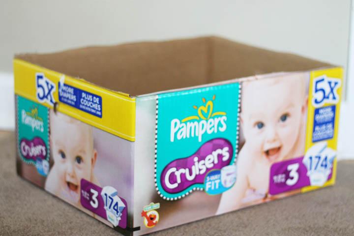 Diaper box