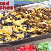 Baked Nachos--A Healthy, Fast, Kid-Friendly Meal