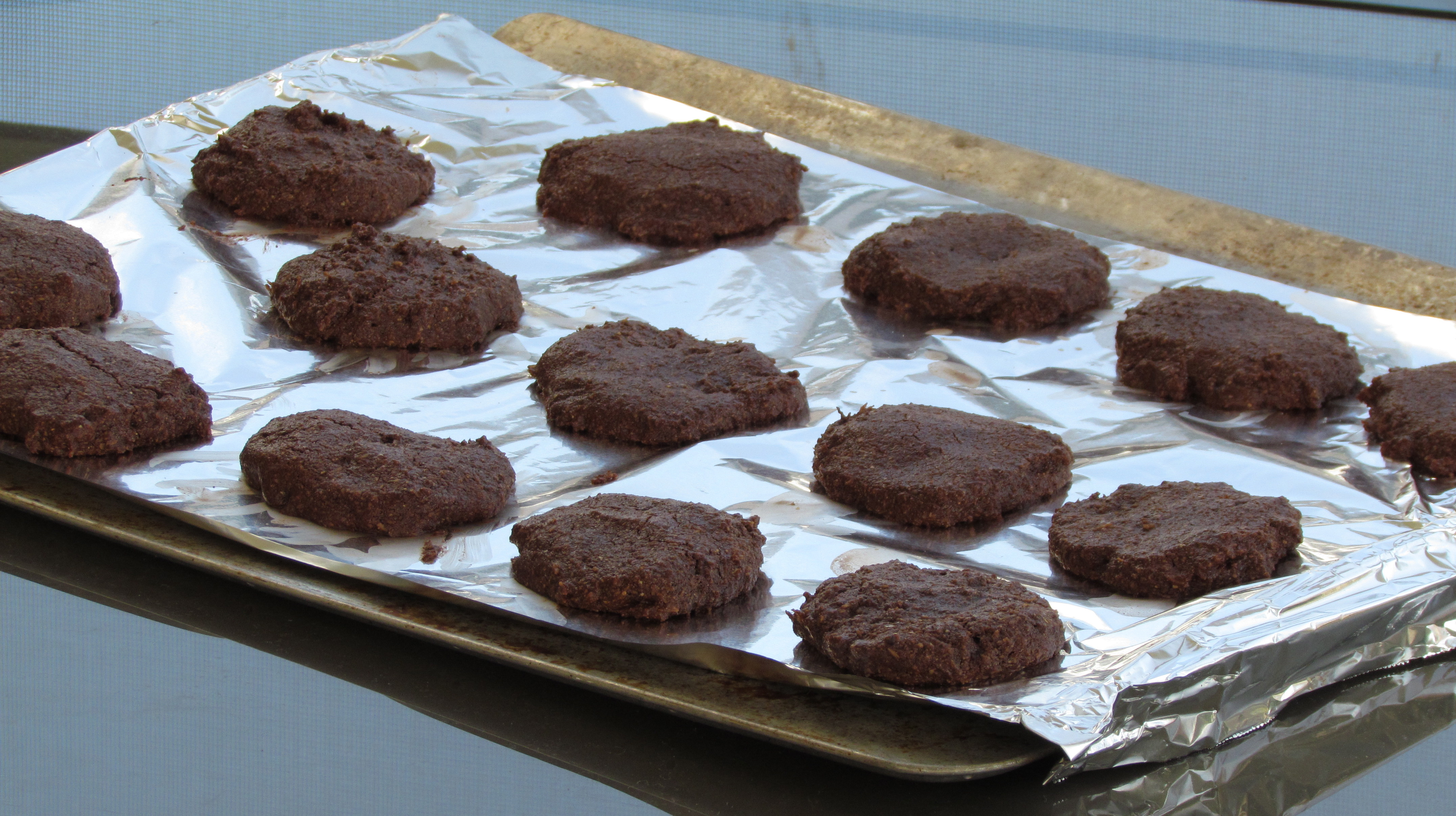 These chocolate coconut cookies are reminiscent of a brownie with a soft, delicate texture.