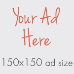 ad size 150x150